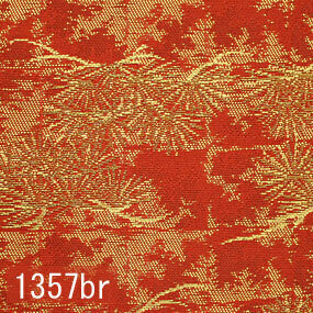 Japanese woven fabric Kinran  1357br