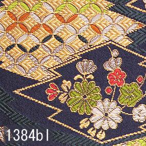 Japanese woven fabric Kinran  1384bl