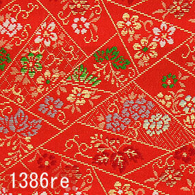 Japanese woven fabric Kinran  1386re