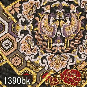 Japanese woven fabric Kinran  1390bk