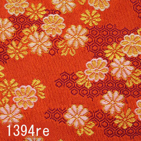 Japanese woven fabric Kinran  1394re