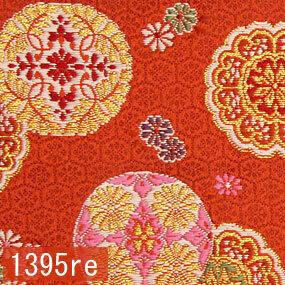 Japanese woven fabric Kinran  1395re