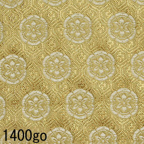 Japanese woven fabric Kinran  1400go
