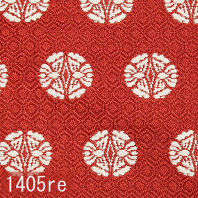 Japanese woven fabric Kinran  1405re