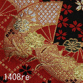 Japanese woven fabric Kinran  1408re