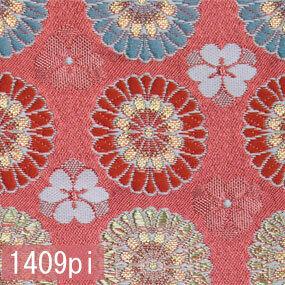 Japanese woven fabric Kinran  1409pi