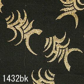 Japanese woven fabric Kinran  1432bk
