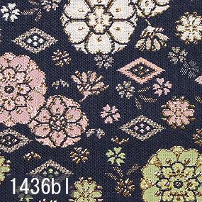 Japanese woven fabric Kinran  1436bl