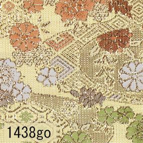 Japanese woven fabric Kinran  1438go