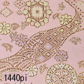 Japanese woven fabric Kinran  1440pi