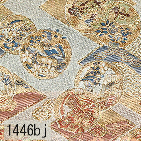 Japanese woven fabric Kinran  1446bj