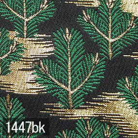 Japanese woven fabric Kinran  1447bk