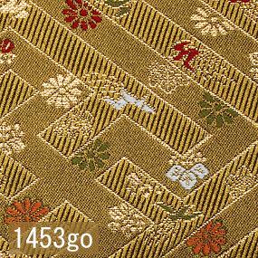 Japanese woven fabric Kinran  1453go
