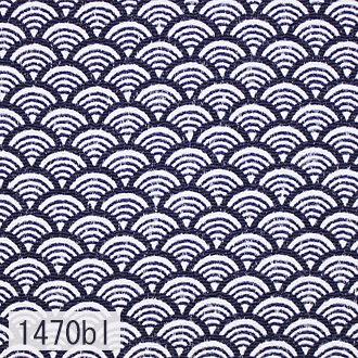 Japanese woven fabric Chirimen  1470bl