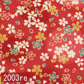 Japanese woven fabric Chirimen  2003re