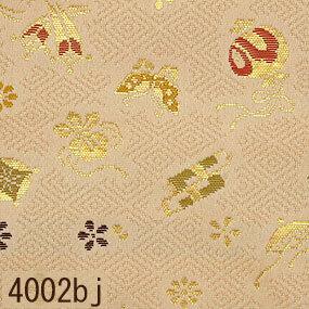 Japanese woven fabric Kinran  4002bj