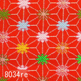 Japanese woven fabric Kinran  8034re