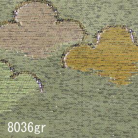 Japanese woven fabric Kinran  8036gr