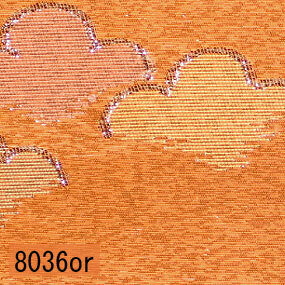 Japanese woven fabric Kinran  8036or