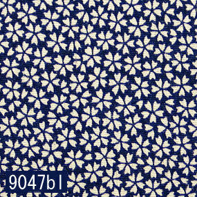 Japanese woven fabric Chirimen  9047bl
