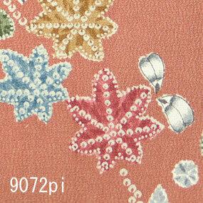 Japanese woven fabric Yuzen  9072pi
