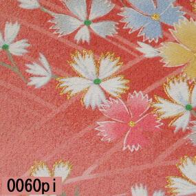 Japanese woven fabric Yuzen  0060pi