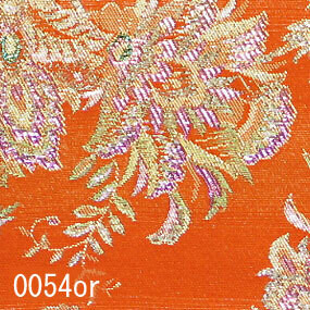 Japanese woven fabric Kinran  0054or