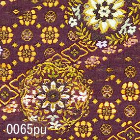 Japanese woven fabric Kinran  0065pu