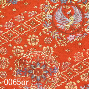 Japanese woven fabric Kinran  0065or