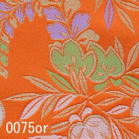 Japanese woven fabric Kinran  0075or