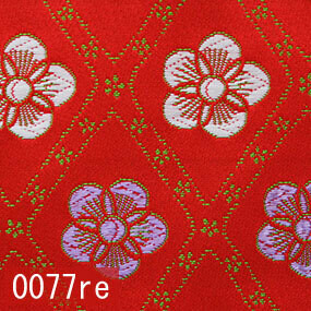 Japanese woven fabric Kinran  0077re
