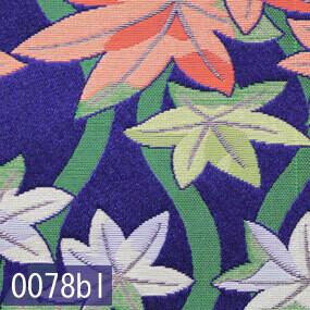 Japanese woven fabric Kinran  0078bl