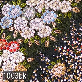Japanese woven fabric Kinran  1003bk