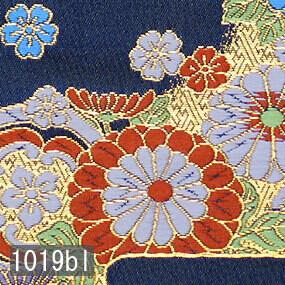 Japanese woven fabric Kinran  1019bl