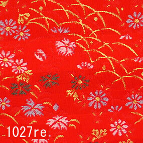 Japanese woven fabric Kinran  1027re