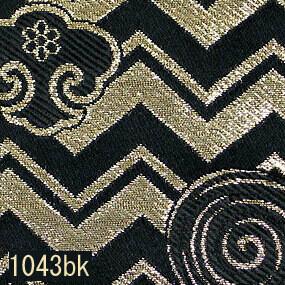 Japanese woven fabric Kinran  1043bk