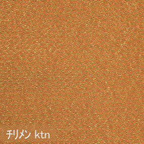 Japanese crepe fabric Oni Chirimen-ktn