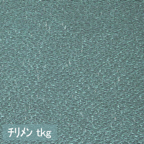 Japanese crepe fabric Oni Chirimen-tkg