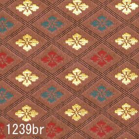 Japanese woven fabric Kinran  1239br