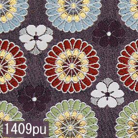 Japanese woven fabric Kinran  1409pu