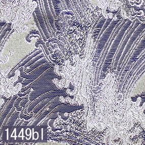 Japanese woven fabric Kinran  1449bl