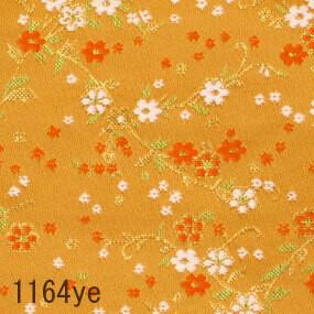 Japanese woven fabric Kinran  1164ye