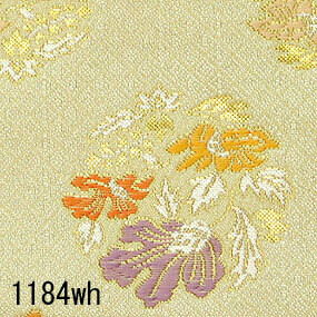 Japanese woven fabric Kinran  1184wh