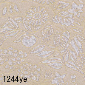 Japanese woven fabric Kinran  1244ye