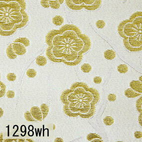 Japanese woven fabric Kinran  1298wh