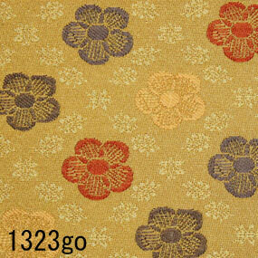 Japanese woven fabric Kinran  1323go