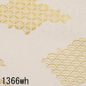 Japanese woven fabric Kinran  1366wh