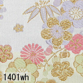 Japanese woven fabric Kinran  1401wh