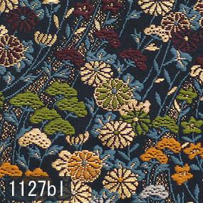 Japanese woven fabric Kinran  1127bl