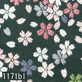 Japanese woven fabric Kinran  1171bl